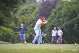Pierre-Eric LEIBOVICI (DAPHNI) on the tee-shot