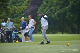 Jean MAKPEVODE on the tee-shot