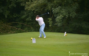 Gille MEZARI, Investor and ready for the tee-shot