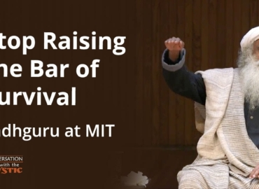 Sadhguru: A master Yogi lecturer at the M.I.T