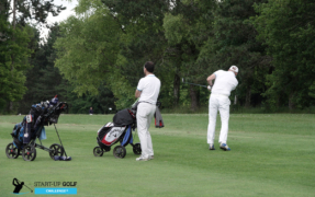 START-UP GOLF CHALLENGE : 2 entrepreneurs playing for success !